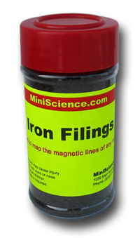 Iron Filings in a shaker